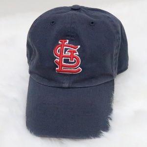 St. Louis Cardinals Fitted Baseball Cap Blue XL